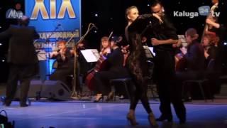 Daniel Binelli junto a Los Rosales y la Orquesta Sinfonica de Kaluga