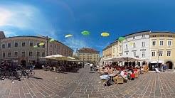 Kärnten: Klagenfurt am Wörthersee im 360°-Video