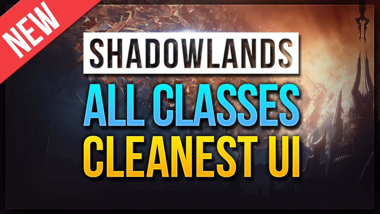 Download CLEAN WoW UI ★ 36 SPECS ★ Shadowlands WeakAuras & ElvUI Profiles