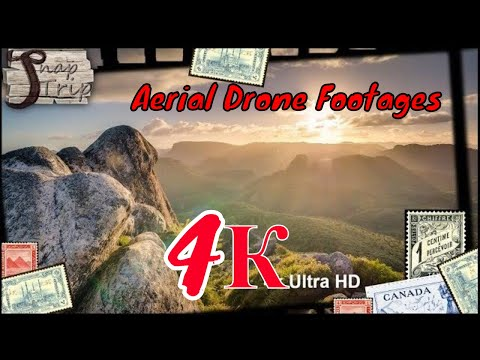 Beautiful and Amazing Aerial Drone Footages Mountains - 4k Ultra HD