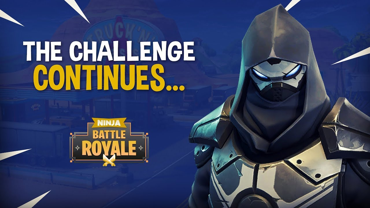 The Challenge For Most Kills Continues Fortnite Battle Royale Gameplay Ninja