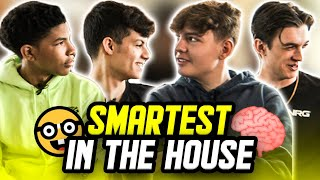 Who's the Smartest Player in the NRG Fortnite House? | Clix, Ronaldo, Edgeyy, Unknown