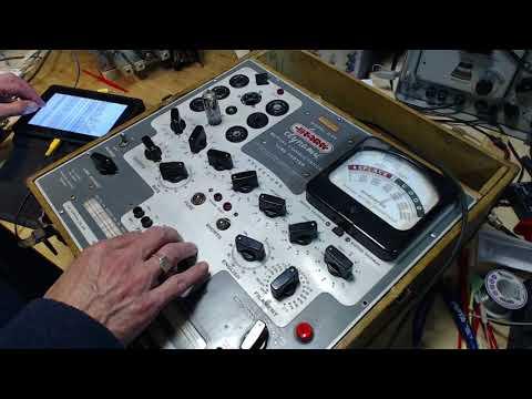 Nordmende 3004C Video #11 - Tubes Tested