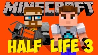 HALF LIFE 3 В MINECRAFT #4 Карта