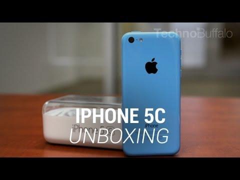 iPhone 5c Unboxing