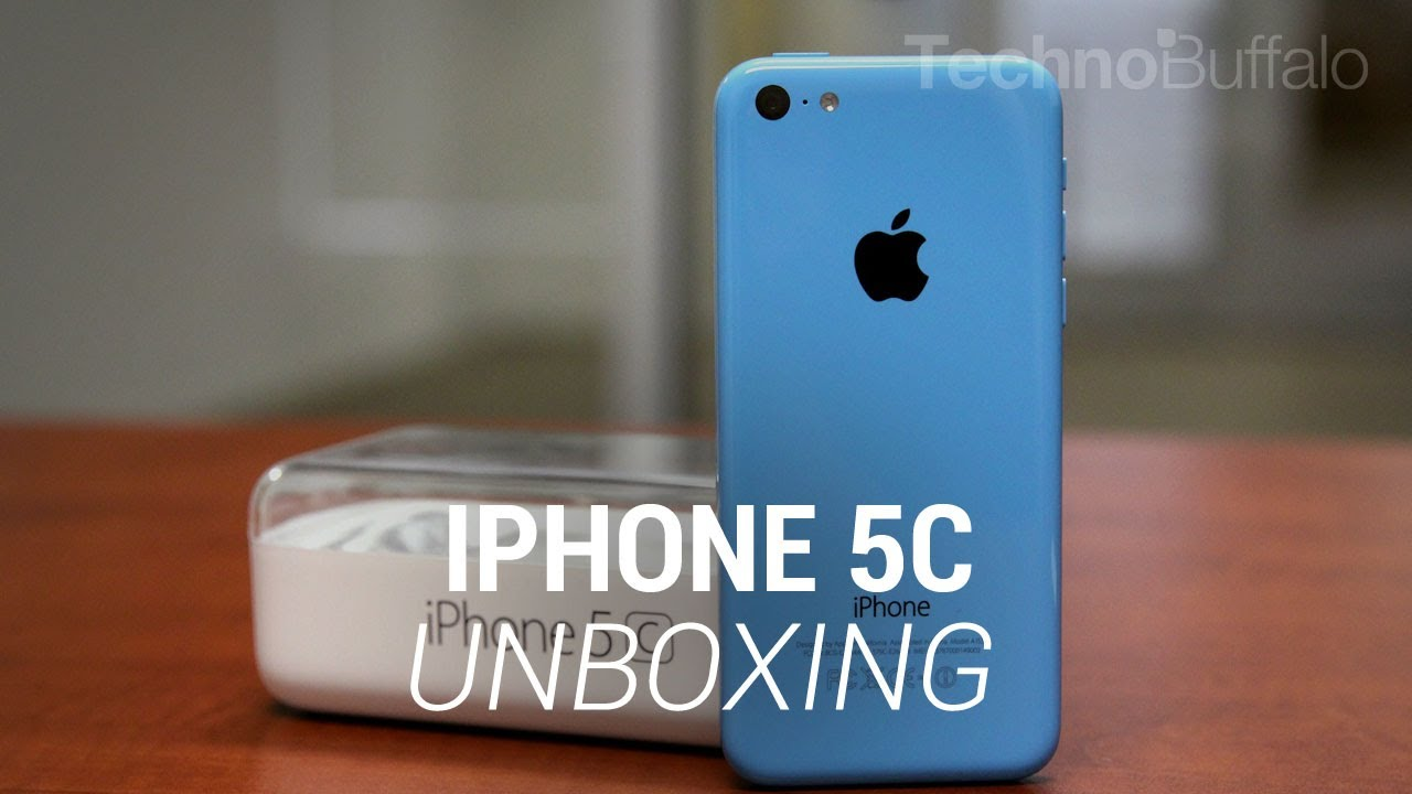 iPhone 5c Unboxing - YouTube