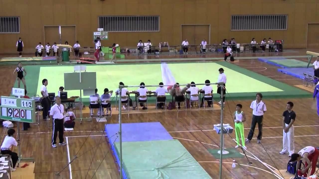 体操競技2010(中国地区中学生1年~3年)あん馬・鉄棒