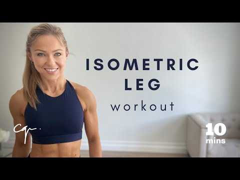 10 Minute Isometric Leg Workout at Home