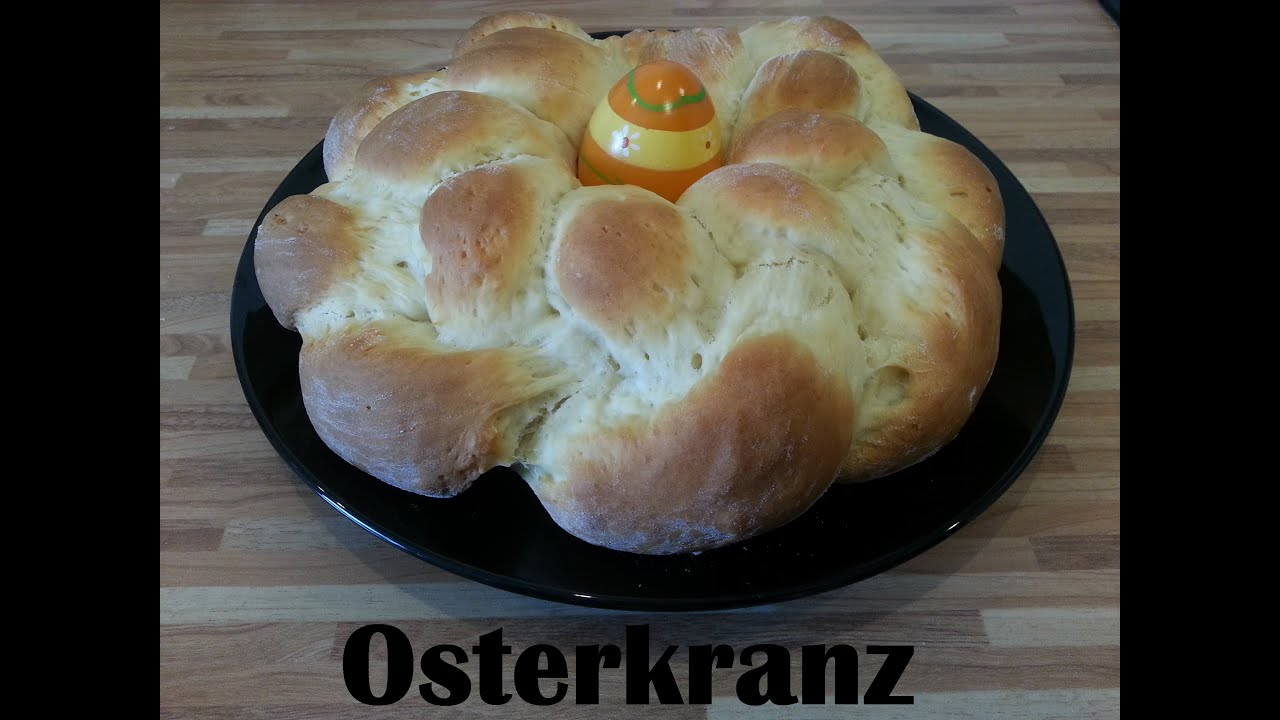 Osterkranz Quark öl Teig Youtube