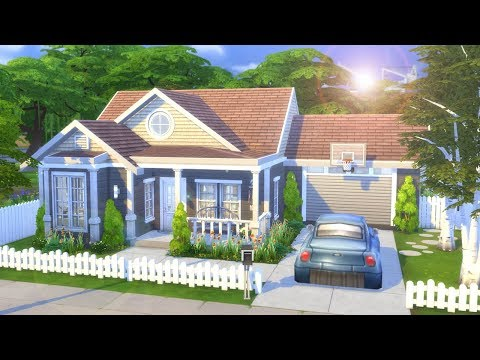 simple-family-home-||-the-sims-4---speed-build