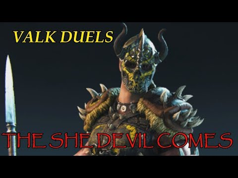 FOR HONOR REPUTATION 5 VALKYRIE DULES the she devil