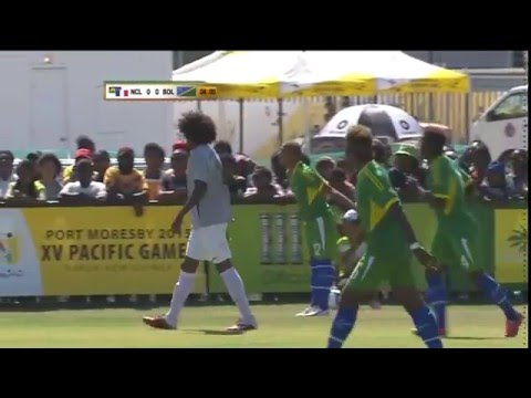 Pacific Games   2015 Football  New Caledonia vs Solomon Islands