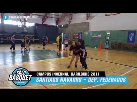 Campus Invernal 2017 Entrevista Santiago Navarro