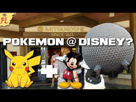 Pokemon at Walt Disney World's Epcot - Mitsukoshi Store Stock June 2016!
