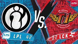 【亞洲對抗賽】小組賽 第二天 IG vs SKT
