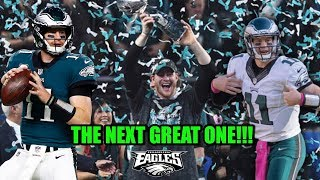 Carson Wentz On The Path To Being The G.O.A.T??? 10 Years From Now He Will Be One Of The Greats!!!