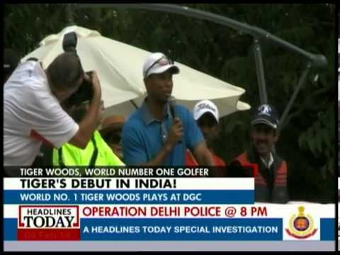 I had an absolute blast in India: Tiger Woods