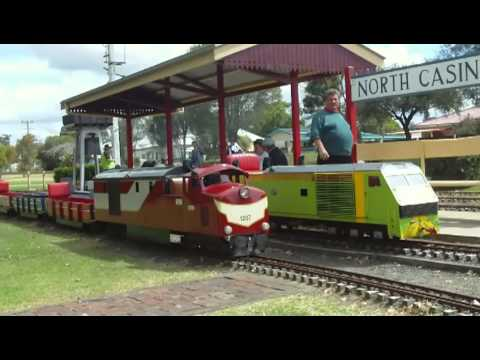 2011 Mini Rail Birthday Pt 3.