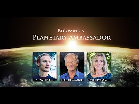 Becoming a Planetary Ambassador - Featuring Foster & Kimberly Gamble of Thrive, hosted by Adam Ap...