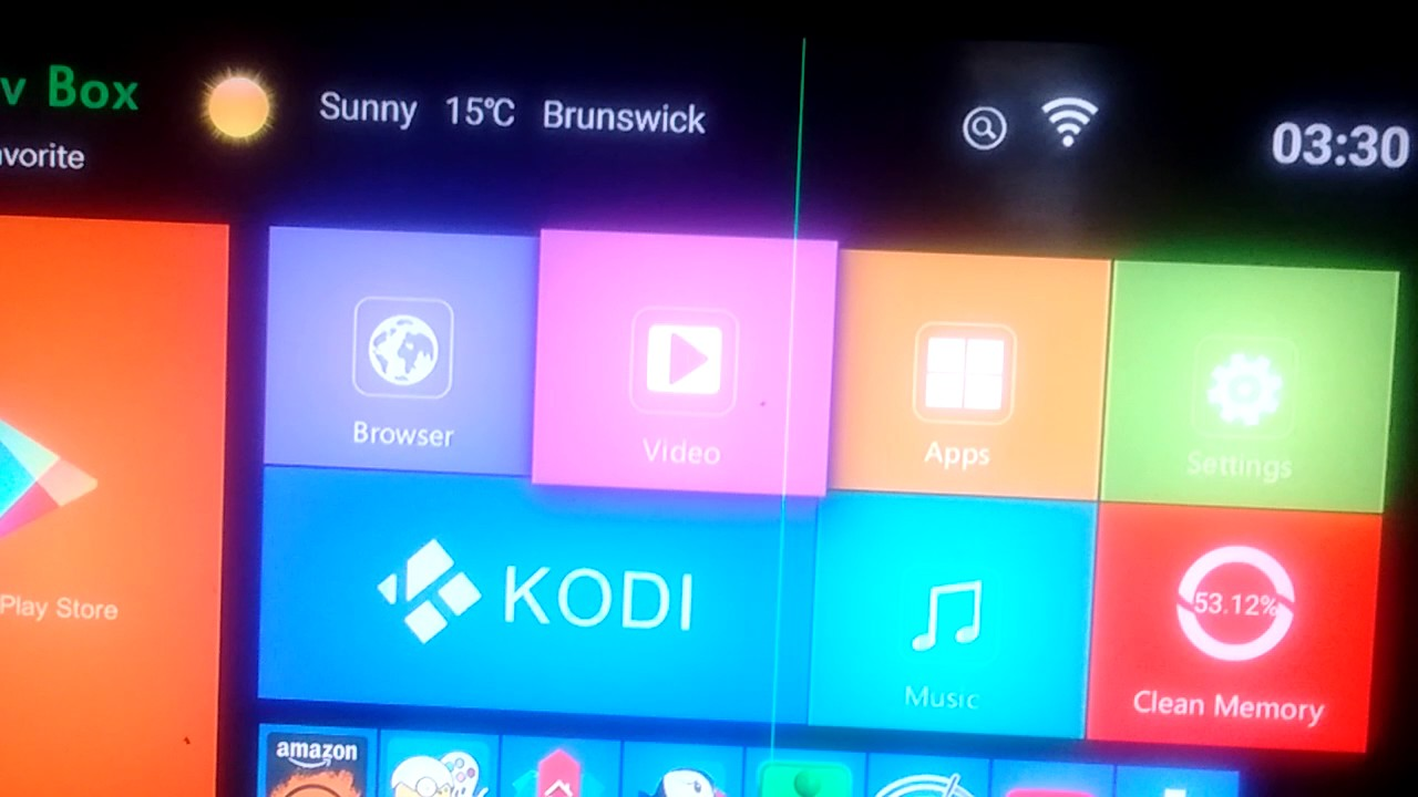 How to Android TV box Notifications Bar