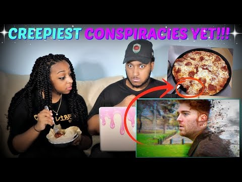 Investigating Conspiracies with Shane Dawson PART 1 REACTION!!!