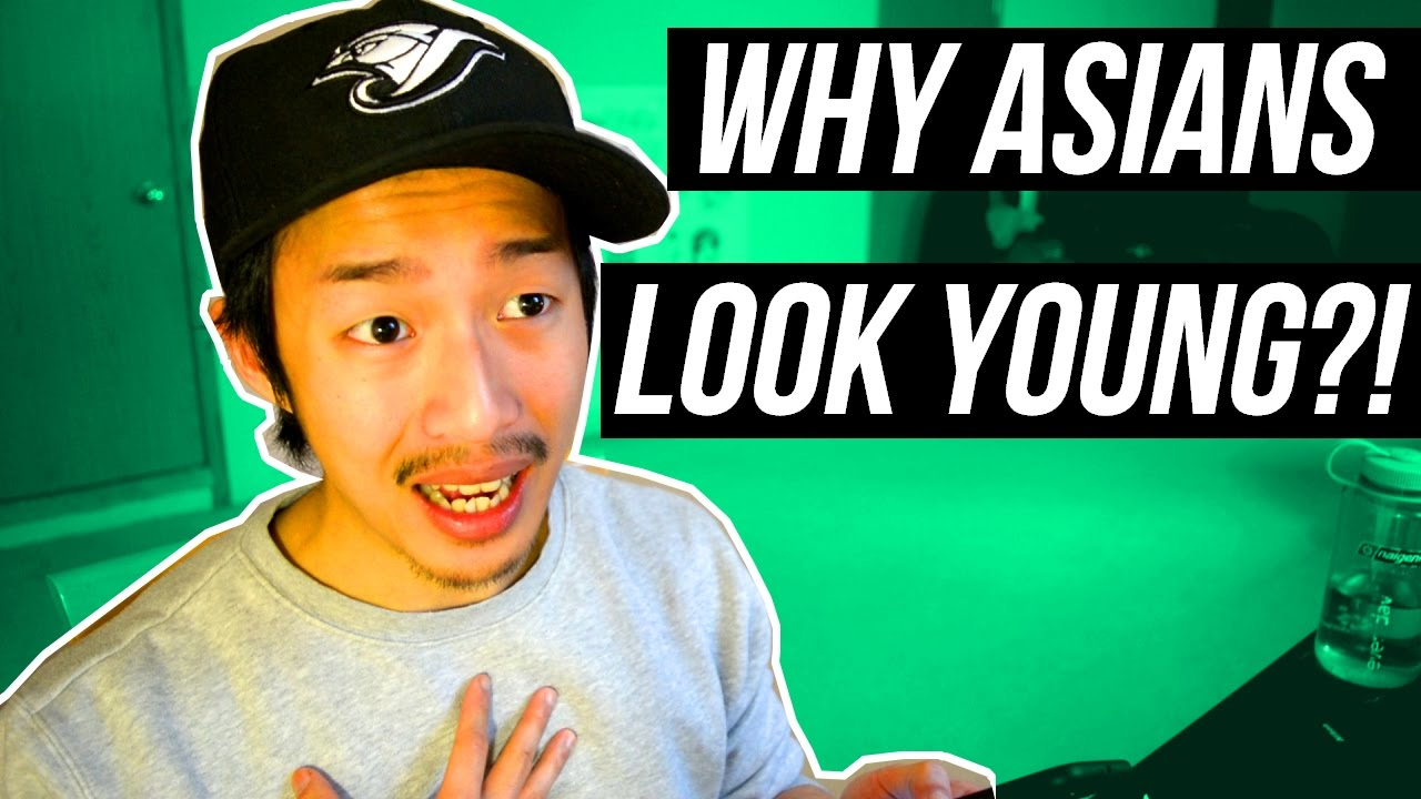 Can asian people look young entertaining question