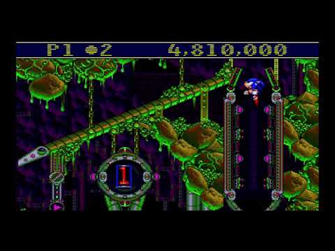 Sega Genesis Classics - Sonic Spinball Part 1 thumbnail