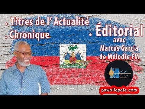 Vendredi 4 août 2017 / Actualité - Éditorial - Revue de Presse / Moïse Jean-Charles réagit à nouveau
