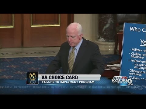 McCain introduces legislation to make VA Choice Card permanent