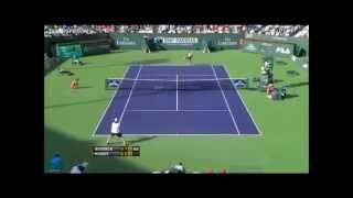 Andy Roddick Vs Lukasz Kubot Indian Wells 2012 Highlights
