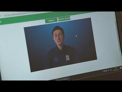 يورو نيوز:شاهد: شرطي افتراضي سيحقق معك عند السفر في أوروبا