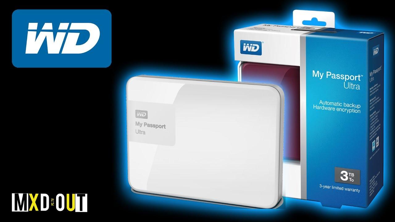 Western Digital My Passport Ultra 3TB!? | Review