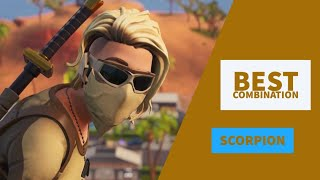 Best Combos | Scorpion | Fortnite Skin Review |