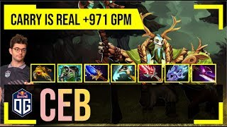 Ceb - Nature's Prophet Offlane | CARRY is REAL + 971 GPM | Dota 2 Pro MMR Gameplay #10