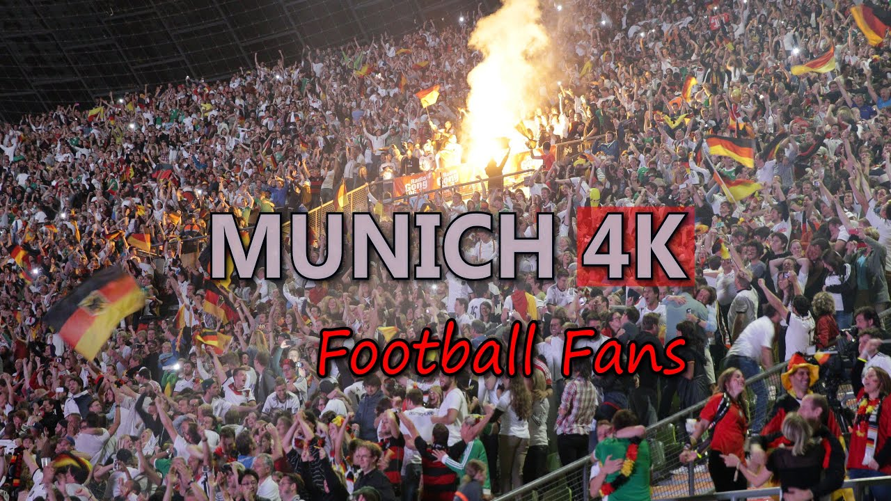 Ultra Hd 4k Stadium Sports Supporters Video Stock Footage Crowd Of