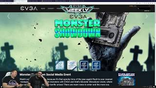 EVGA Weekly Live 180 EVGA GeForce GTX 1650 Giveaway