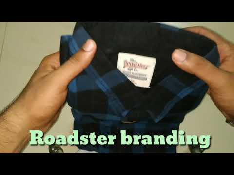 Unboxing Roadster Casual Shirt | Ordered From Myntra | My First Product From Myntra | Share Your Exp