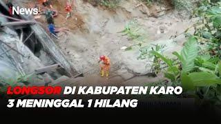5 Pekerja Proyek Tertimbun Longsor di Kab. Karo, 3 Meninggal 1 Hilang, 1 Selamat #iNewsMalam 28/09