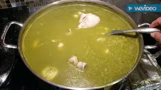 Pozole verde de pollo con sabor a Michoacán!!
