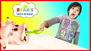 Piggin Boogers Family Fun Games for Kids Yucky Boogers Slime Egg Surprise Toys Cry Baby Sour Candy