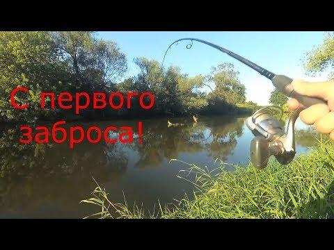 С Первого Заброса!Рыбалка на реке Клязьма + отчет с Можайского водохранилища.