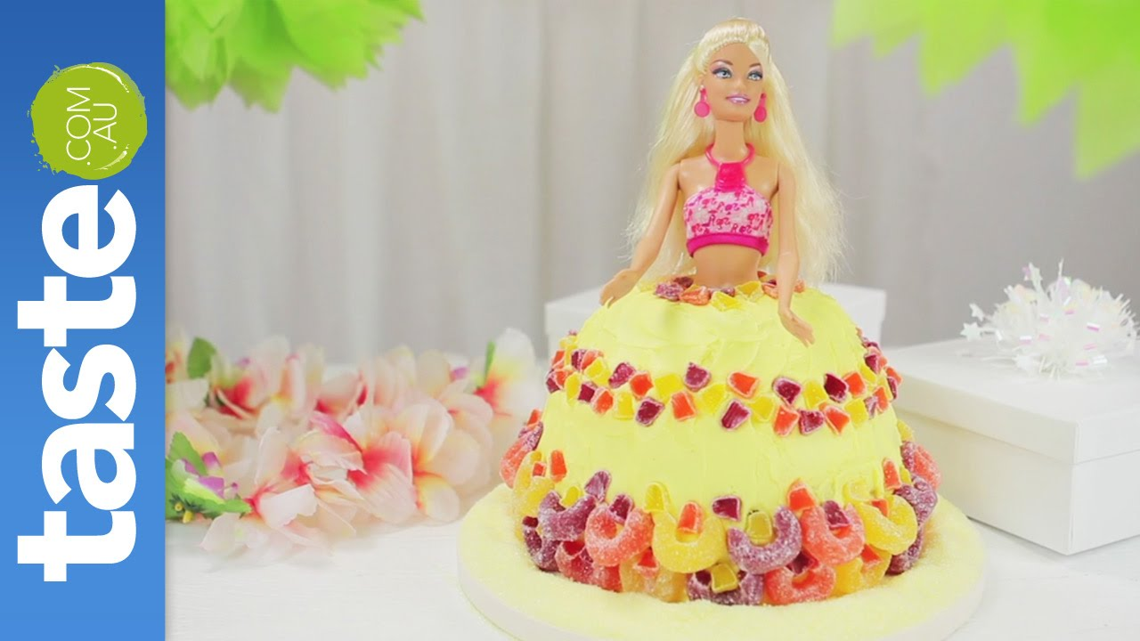 How to make an Hawaiian girl cake - YouTube