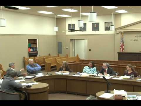 Marshall County Fiscal Court April 15 2014