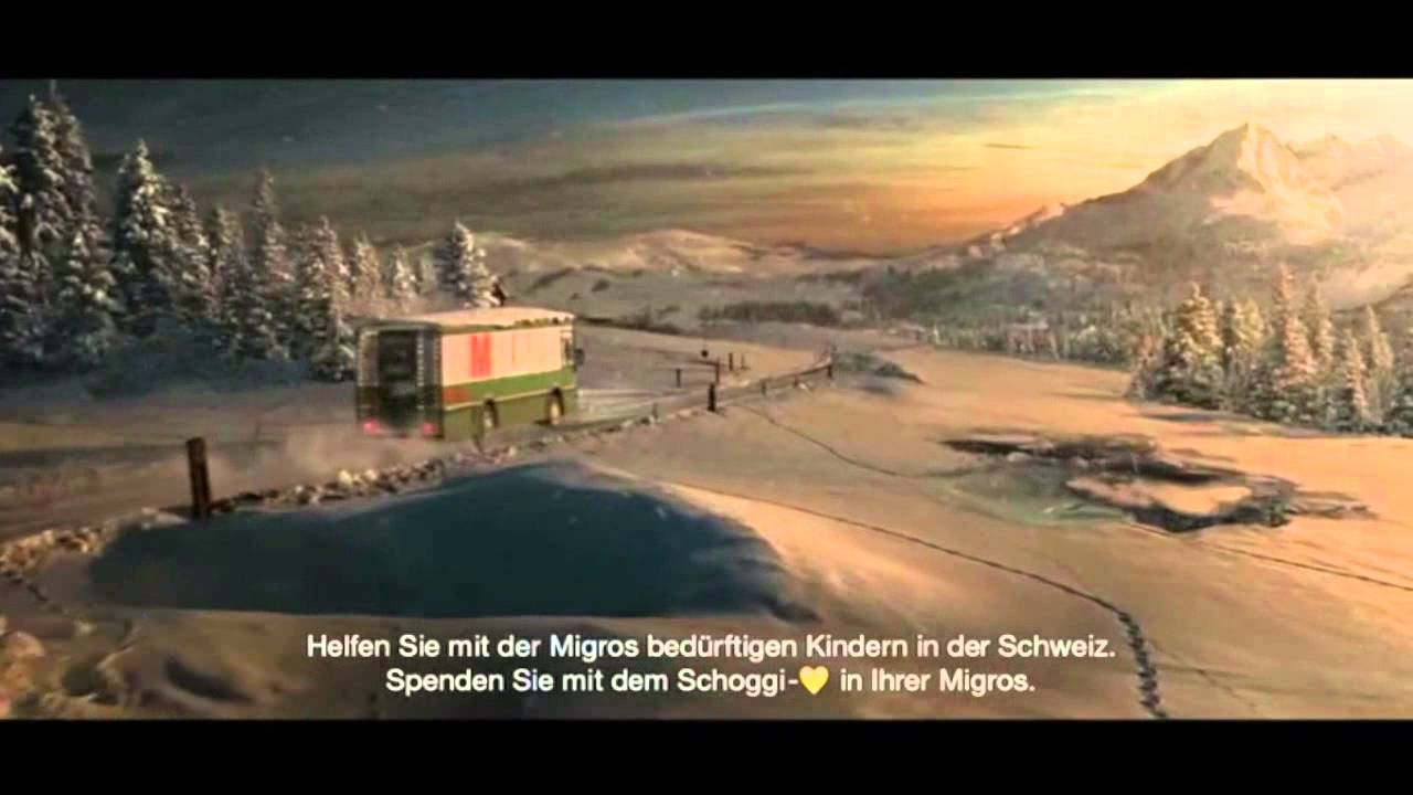 Werbung Migros Weihnachten / Christmas Commercial 2015 - YouTube