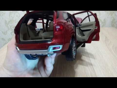 Diecast Unboxing ford everest and full reviev