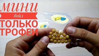 Мини бойлы на резинке Fish Dream 5мм,9мм гороховые красные,желтые