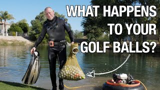 What Happens to Y๐ur Golf Balls After They Land in the Water?