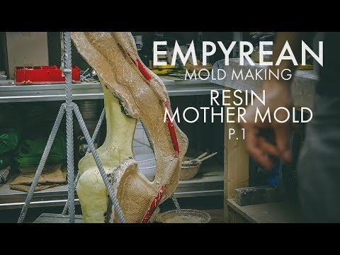 Empyrean - Mold Making - Resin Mother Mold - Part 1