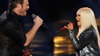 Christina Aguilera ft. Blake Shelton - Just a Fool