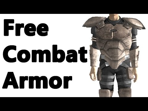 Fallout New Vegas: Best Combat Armour for Free Location Guide (Mark 2/Rare)